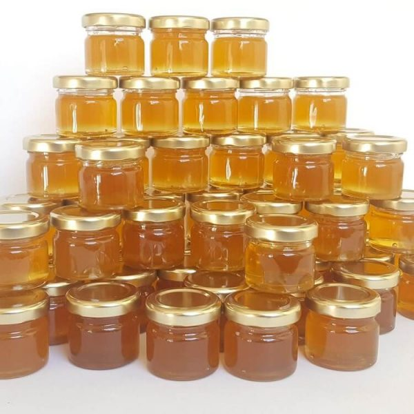 small honey pot