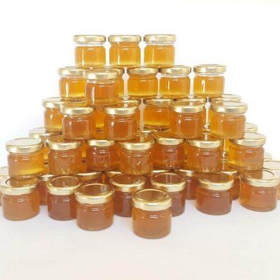 wedding favour honey