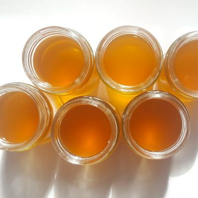 healthy and tasty fresh honey