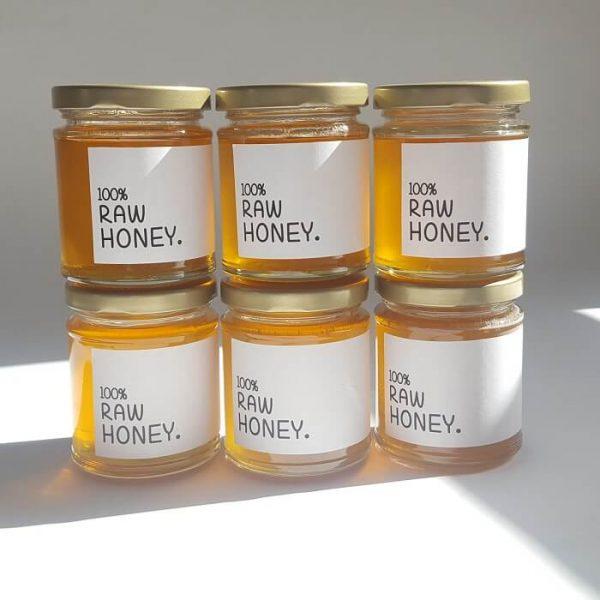 British raw honey